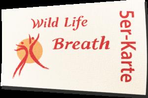 Die Wild Life Breath 5er-Karte